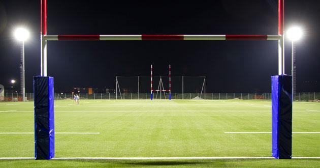 Carecaled installazione campo da rugby cus pisa