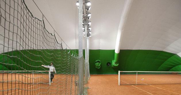 Carecaled installazione campo da tennis