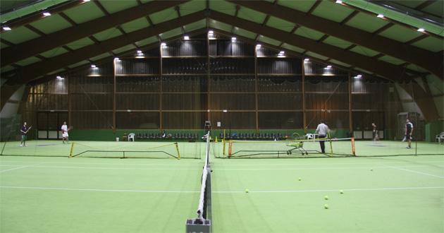 Carecaled installazione 2 campi da tennis scandiano