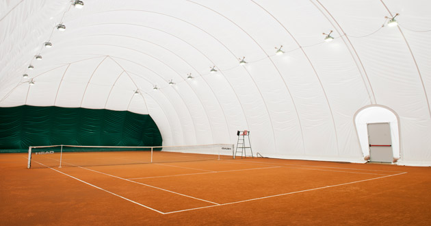 Carecaled installazione campo da tennis